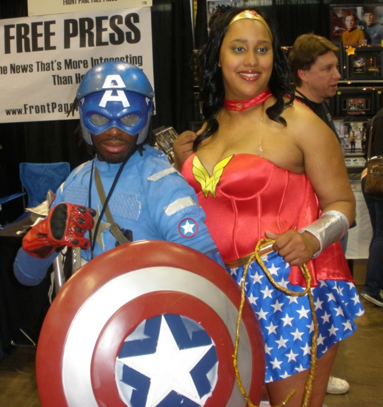 Black Superheros at C2E2 in Chicago
