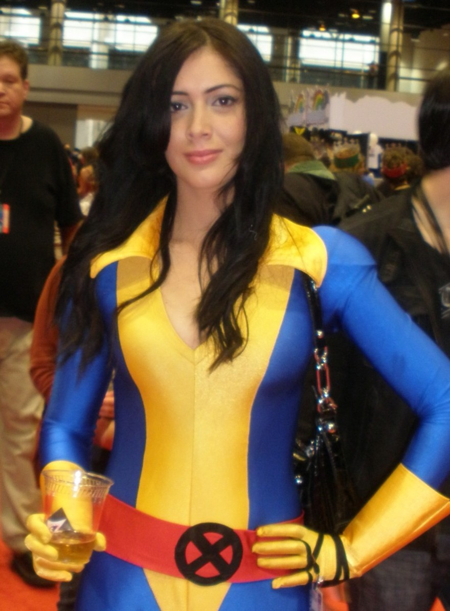 Beautiful girl at C2E2 in Chicago
