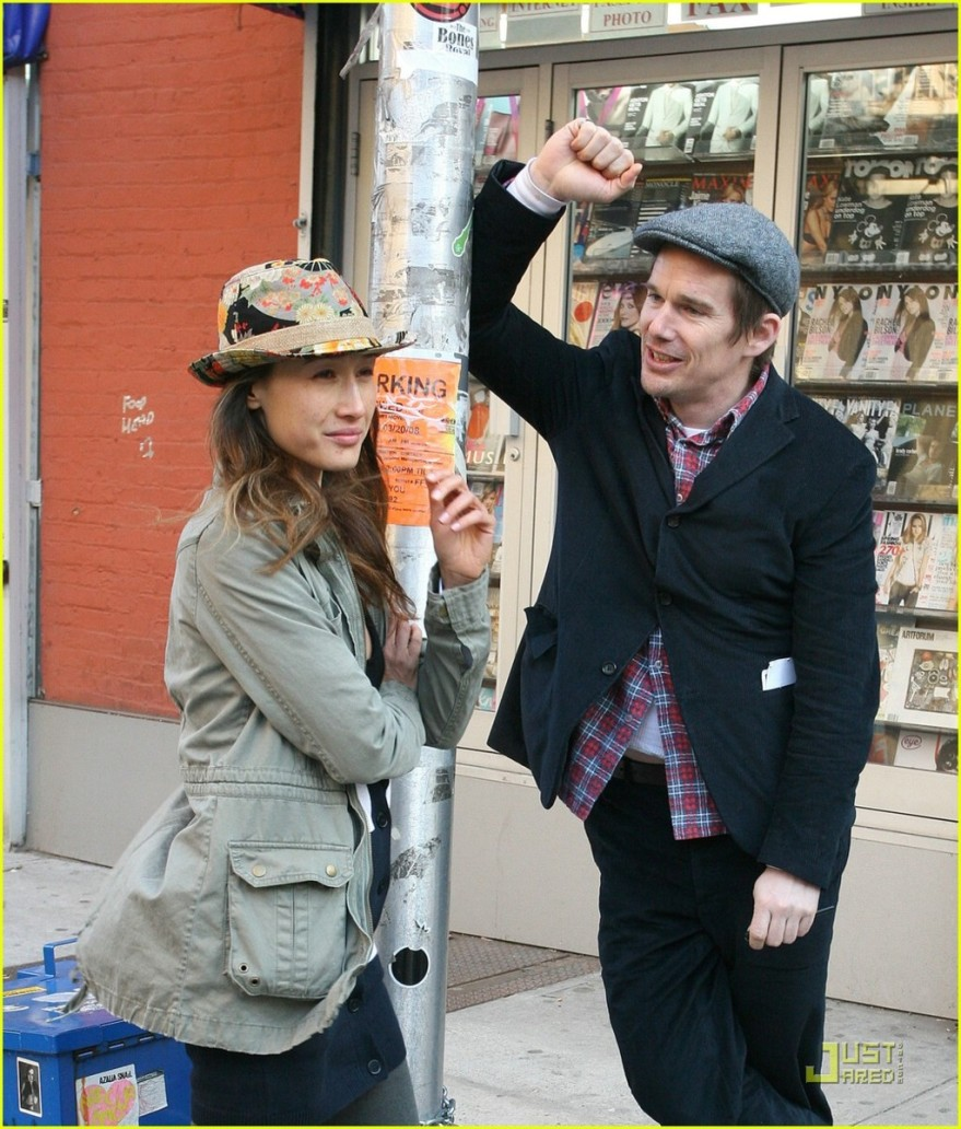 Maggie Q and Ethan Hawke in New York, I Love You