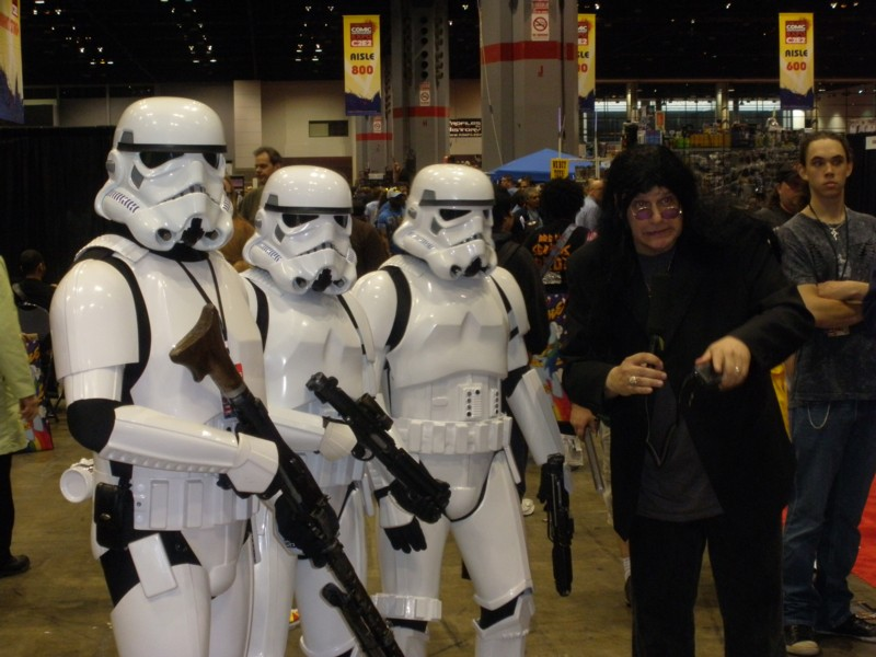 Storm Stroopers and Ozzy Osbourne at C2E2 in Chicago