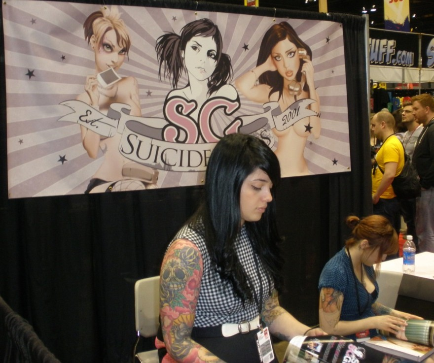 Suicide Girls at C2E2 in Chicago