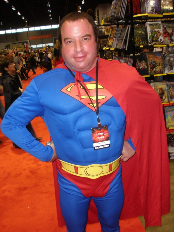Fat Superman at C2E2 in Chicago