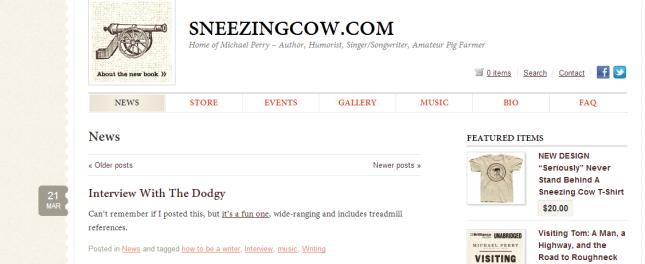 Sneezing Cow