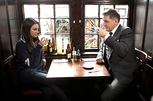 Mila Kunis and Craig Ferguson