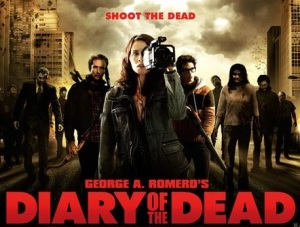 Actress Michelle Morgan in George R. Romero's Diary Of The Dead