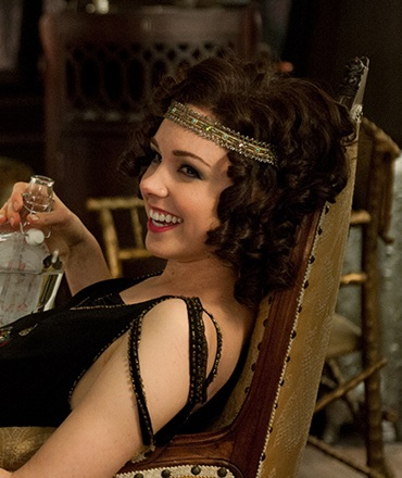 Meg Chambers Steedle as Billie Kent on Boardwalk Empire