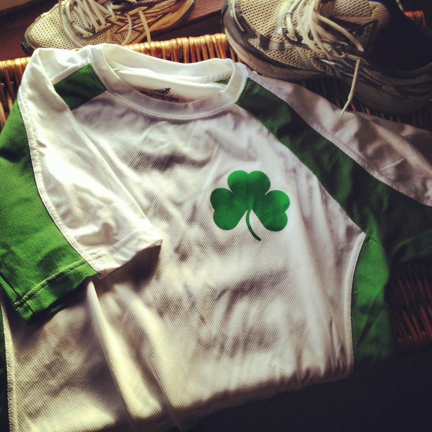 Irish running shirt