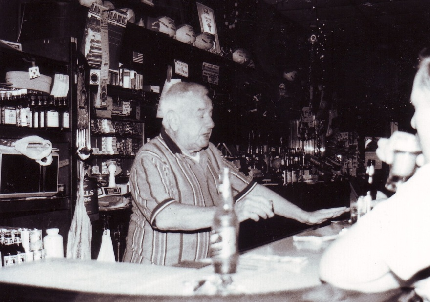 Elmer the bartender at Mickey's in Bucktown