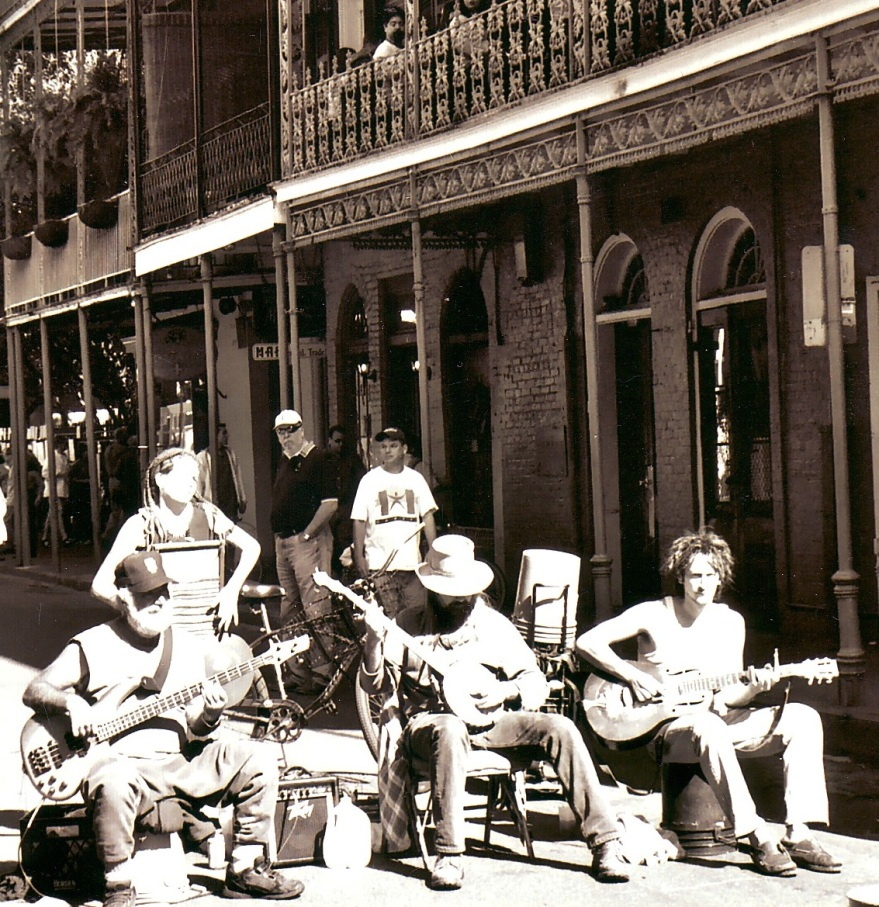New Orleans musicians