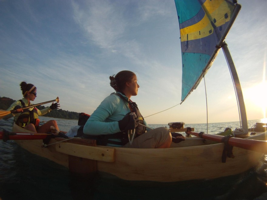 Amy Lukas and Mary Catterlin journey the perimeter of Lake Michigan