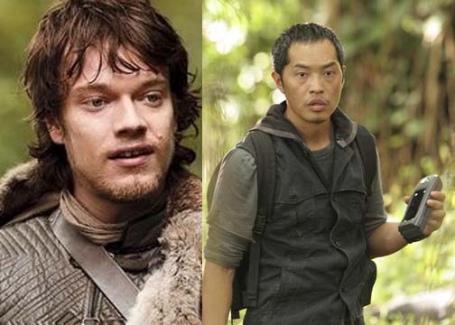 "Alfie Allen ""Theon"" as Miles."