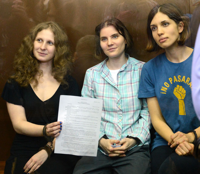 Pussy Riot - Masha, Katia, Nadia