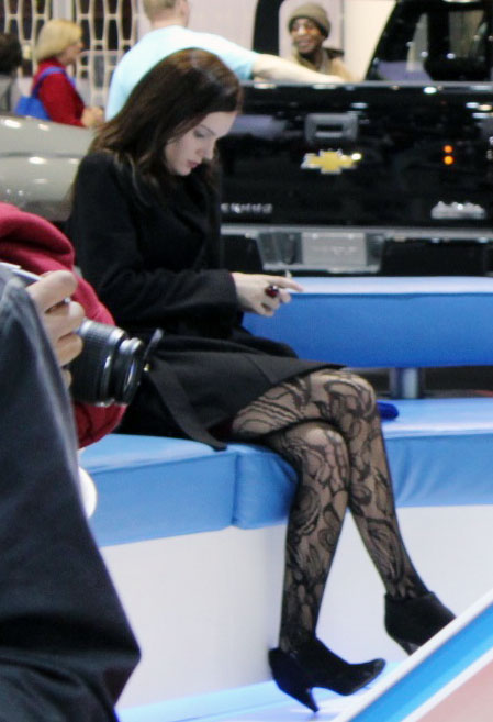 Auto Show Fashion tights image