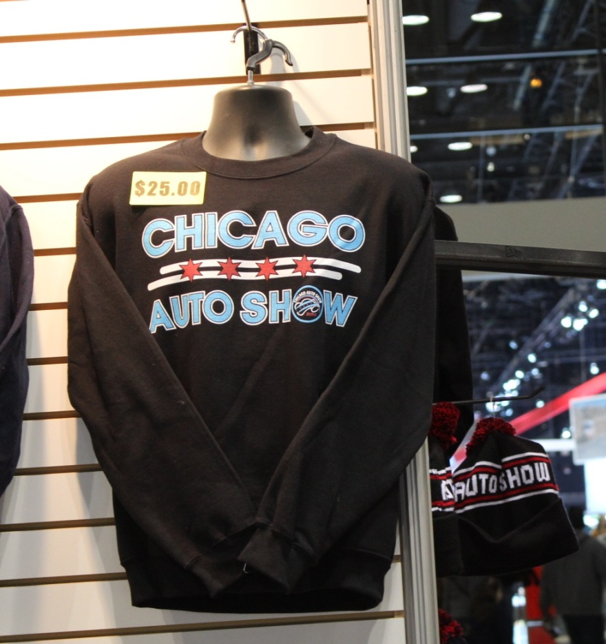 Auto Show Fashion sweatshirt picture